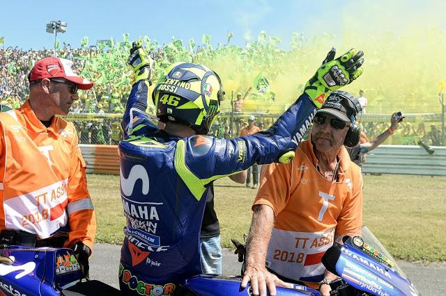 Valentino hoy tenía mojo. Foto: MotoGP