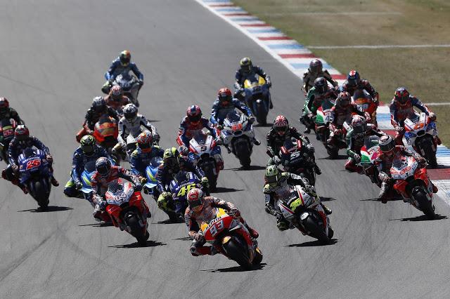 La salida de Lorenzo es para verla repetida. Foto: MotoGP