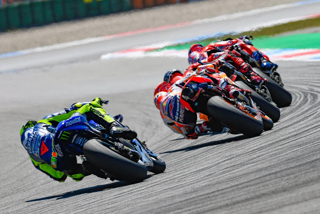 Las Yamaha funcionan en Assen. Foto: MotoGP