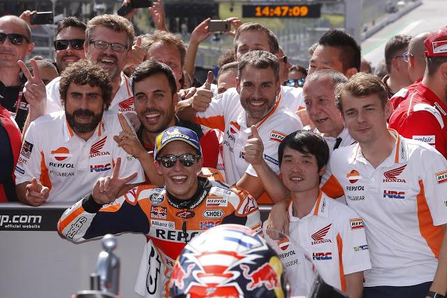El 5º título está cada vez más cerca. MotoGP