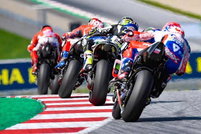 Crutchlow y Petrucci fueron 4º y 5º, pero a distancia. MotoGP