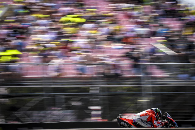 Gran carrera del gran campeón. MotoGP