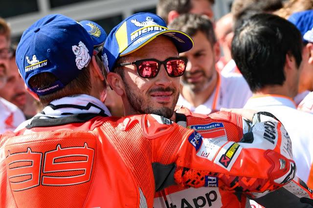 """Ya sé cómo va la cosa, compi"" MotoGP"