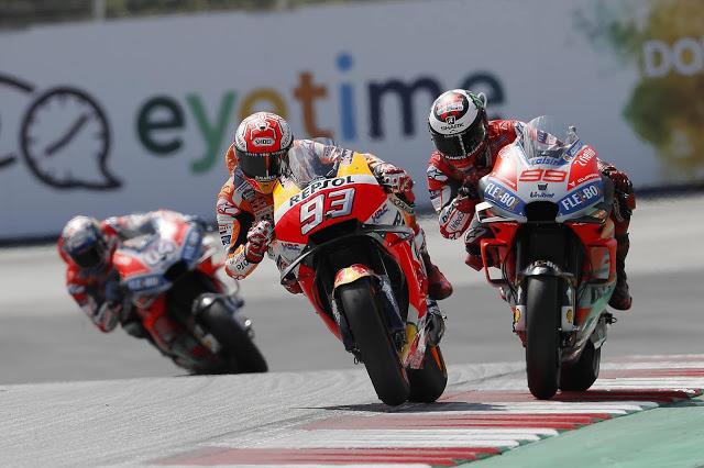 Este duelo se recordará por mucho tiempo. MotoGP