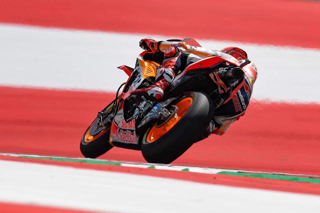 Va rápido hasta en la pasta de dientes. MotoGP
