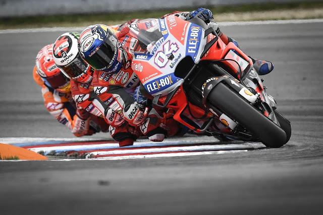 Nos dieron las vueltas finales que faltaron en Assen. MotoGP