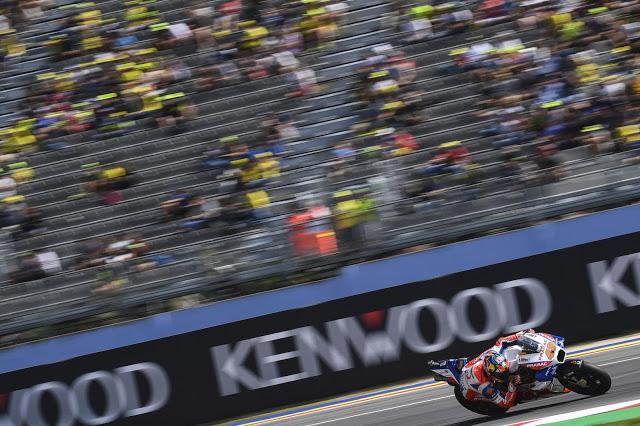 A Miller se le vio poco. MotoGP