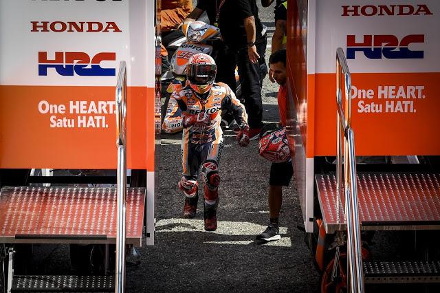 A la carrera a por el título. MotoGP