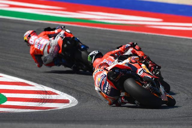 Los tres tenores. MotoGP