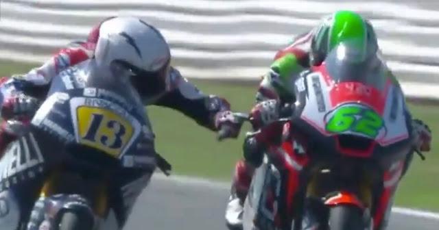 Fenati, un tio chungo. MotoGP