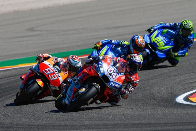 Dovi impuso un ritmo lento. Fue su perdición. MotoGP