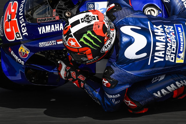 Viñales, más rápido que el año pasado. MotoGP