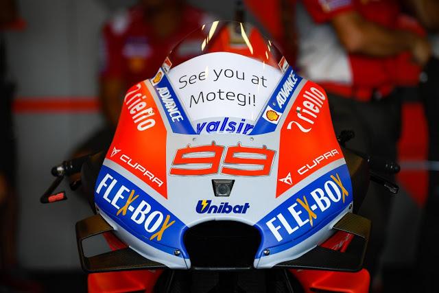 Las carreras sin Jorge son menos carreras. MotoGP