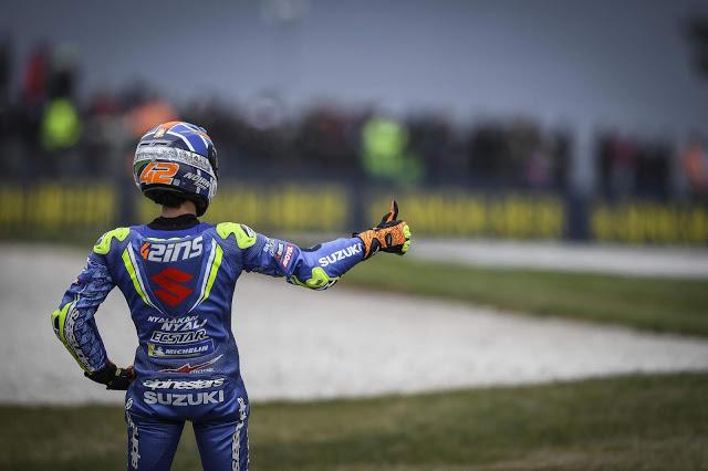 Buen fin de temporada para Rins. MotoGP