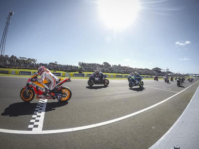 Viñales tiene el talón de Aquiles en la salida. MotoGP