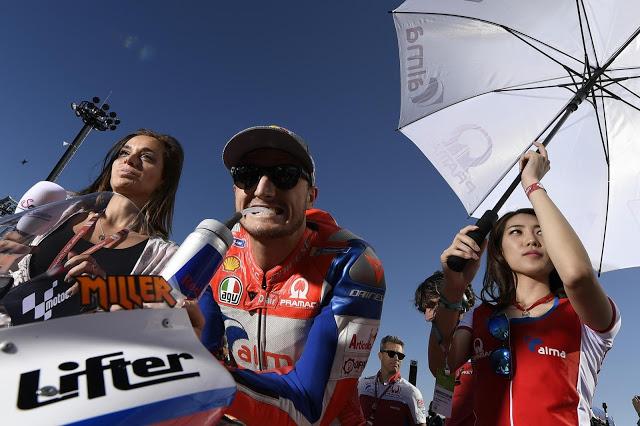 Miller arruinó la carrera de Zarco, y de paso la suya. MotoGP