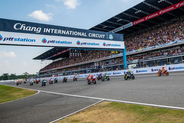 Esta vez, salida sin sobresaltos. MotoGP