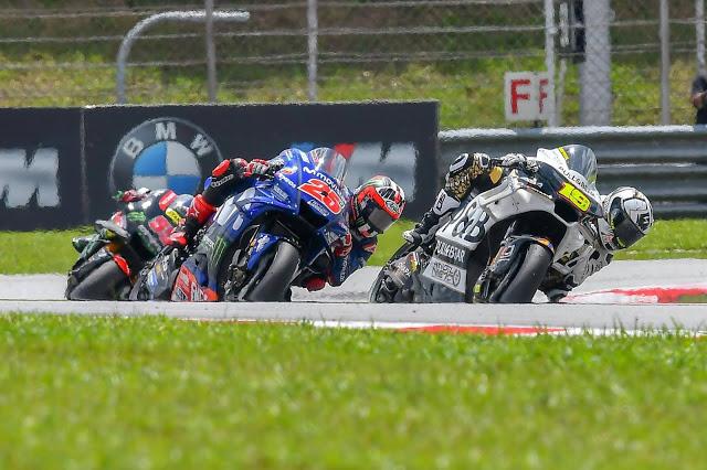 Viñales tardó en adelantar a Bautista. MotoGP