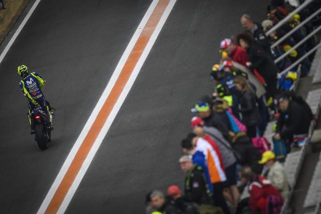 Todo pundonor, pero el tiro salió por la culata. MotoGP