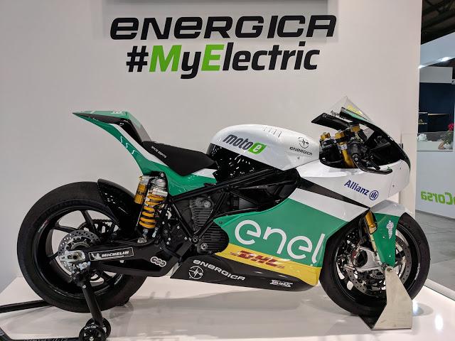 Energica será el proveedor de MotoE.