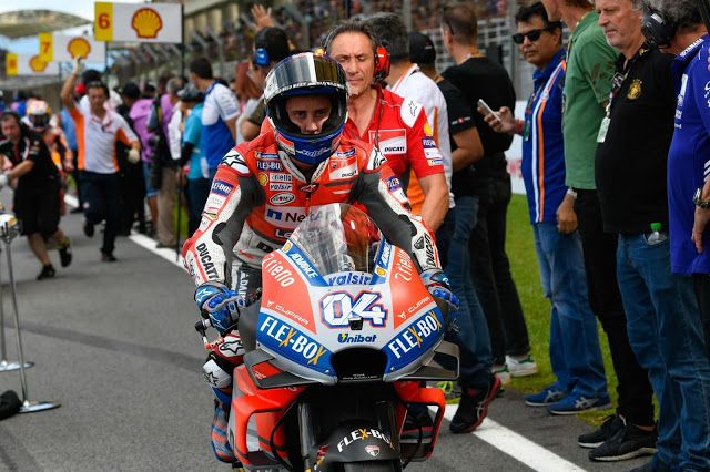 Para el Fary, un blandengue. MotoGP