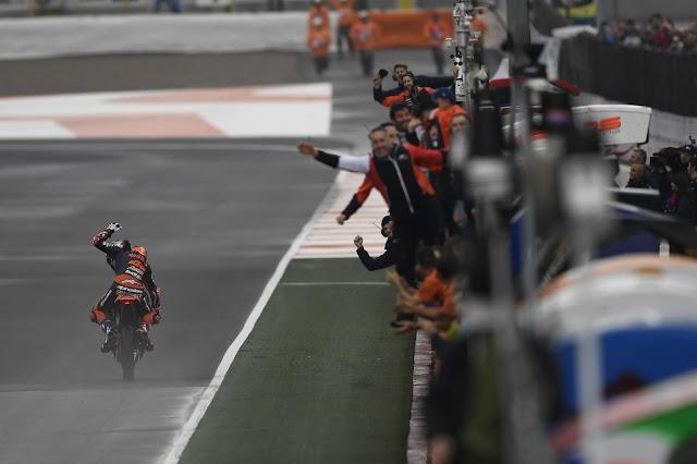 Can Oncu, el ganador más joven de un GP. MotoGP