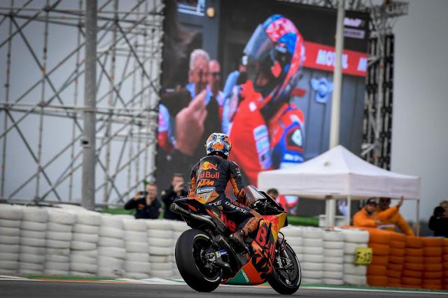 Podio histórico para KTM. MotoGP
