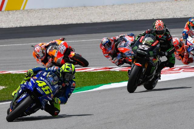 La primera línea salió bien. MotoGP