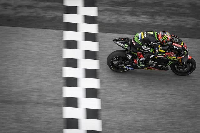 Zarco fue la primera Yamaha. MotoGP