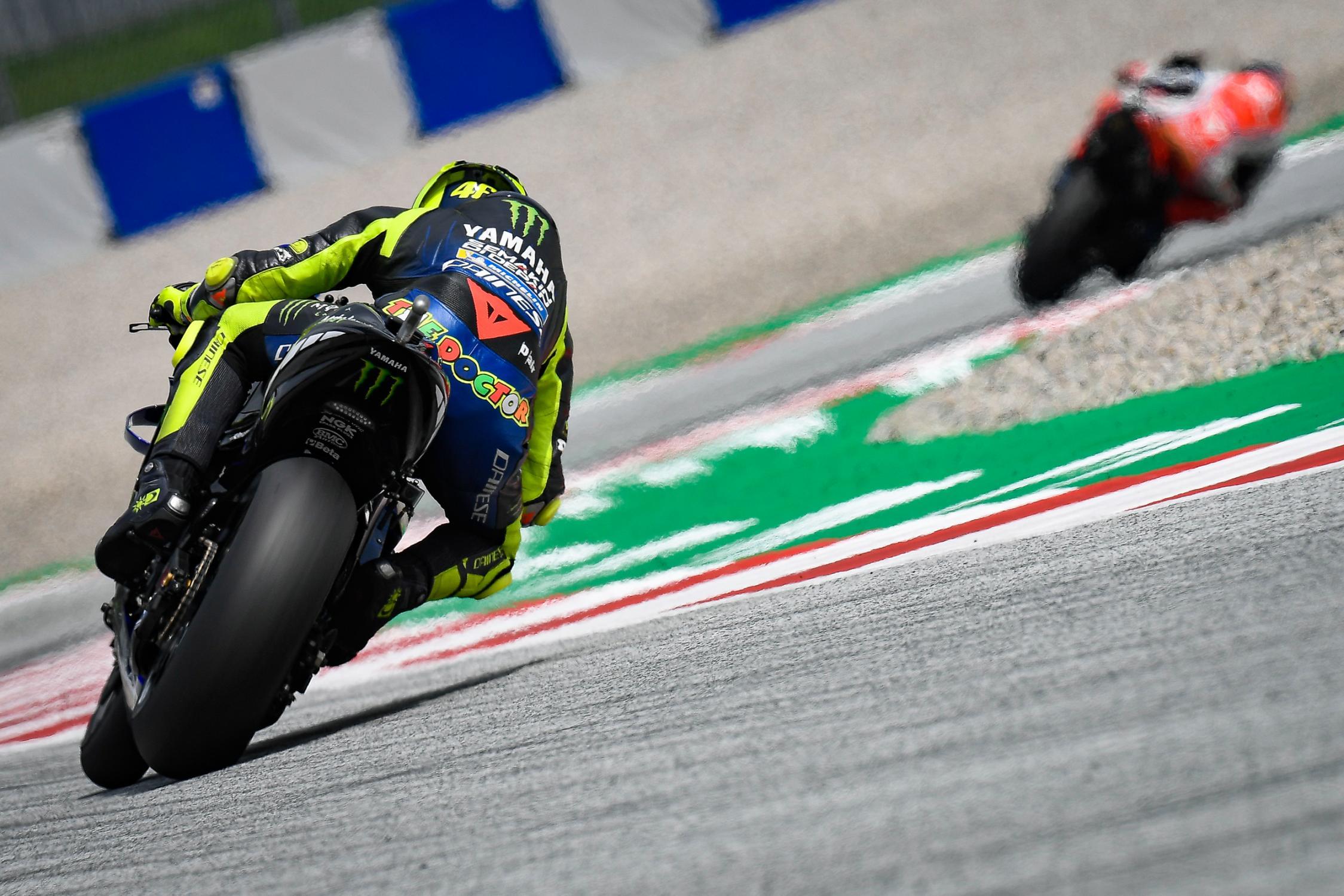 Rossi puntúa.. Foto: MotoGP