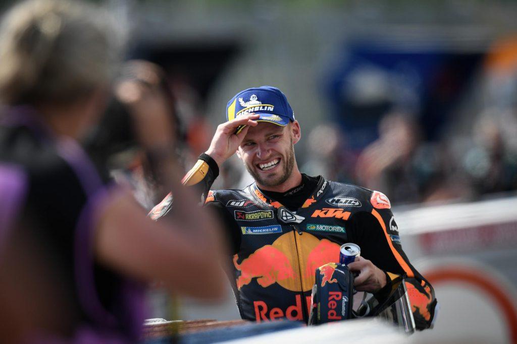 Brad Binder, un piloto de la casa Foto: MotoGP