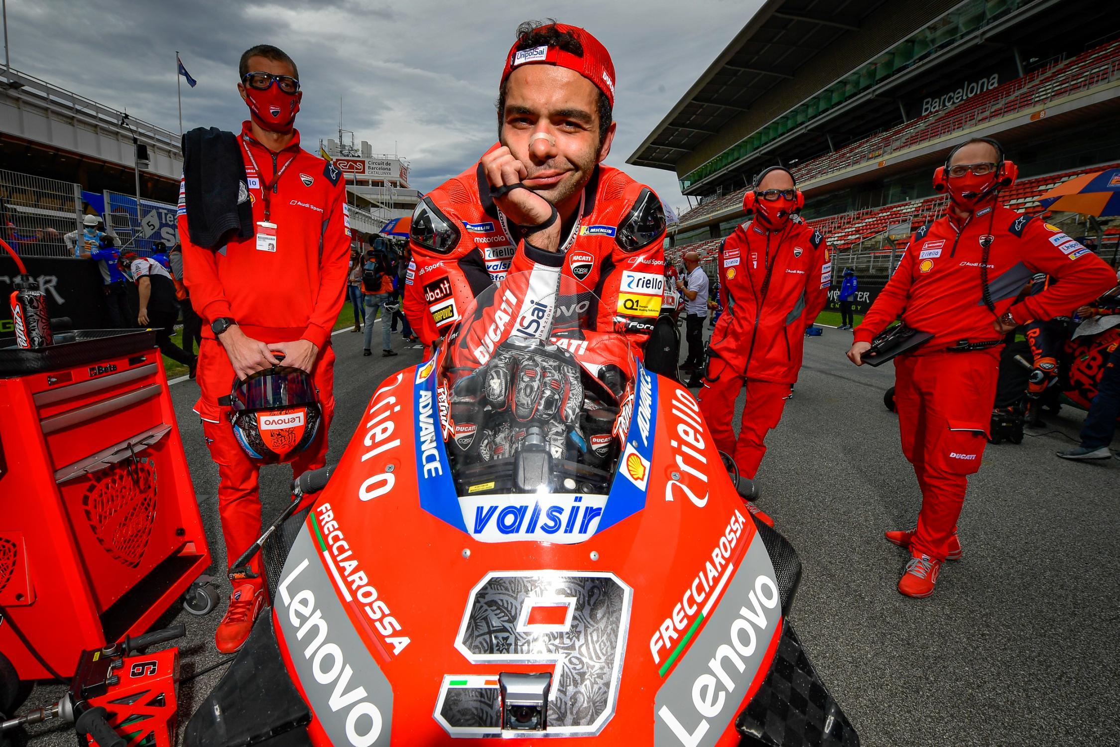 A Noé con humedades.. Foto: MotoGP